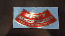 New listing Gm 327 turbo-fire Air Cleaner Decal 185 Hp
