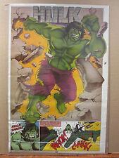Vintage The Incredible Hulk 1988 poster Marvel 10222