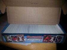 2013 Bowman Chrome Mini Factory Set OPENED NO REFRACTORS Correa Judge Machado