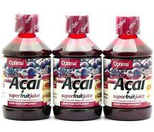 OFFERTA 3 CONFEZIONI Succo di Acai con OXY3 OPTIMA 500 ml X 3