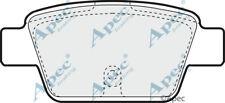 PAD1260 GENUINE APEC REAR BRAKE PADS FOR FIAT BRAVO