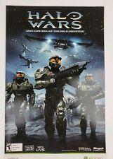 Halo Wars Commercial Display Poster 11 x 17 Cardstock Xbox 360 Original 2008