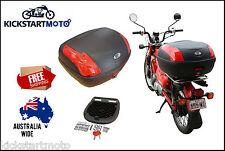 Honda CT110 Postie Bike 52L Topbox Rear Storage Luggage Top Box CT 110