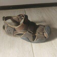 Crocs Men's Swiftwater Leather Fisherman Sandal Size 12