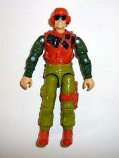 GI JOE SKIDMARK Vintage Action Figure Desert Fox Driver COMPLETE C9+ v1 1988