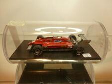 TWIN CRONO FERRARI 126CK - DIDIER PIRONI #28 - F1 RED 1:43 - VERY GOOD IN BOX