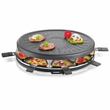 Severin Party Cooking Raclette Grill + 8 Mini Pans Variable Thermostat Non-Stick