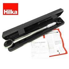 """Hilka herramientas 1/2"""" unidad 28-210Nm Micrómetro Llave Dinamométrica Satén calibrada NA10"""
