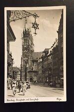 Postkarte Nürnberg Königsstraße 1936