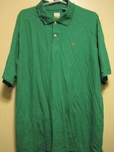 Callaway C-Tech Mens SZ XL S/S KELLY GREEN Golf Polo Shirt