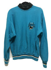 Vintage San Jose Sharks Sweater Sweatshirt Men's Medium NHL Hockey Turtleneck