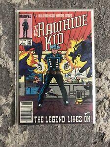 The Rawhide Kid #1-4, Complete Set, Aug.-Nov. 1985 - Marvel Comics - VF