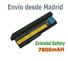 BATERIA PARA  Lenovo Thinkpad X200 X201 Fru P/N ASM 42T4539 9 celdas Ion-litio