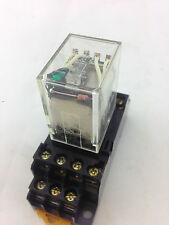 OMRON	MY4N-D2 (24VDC)	Relay 24VDC Four Pole Double Throw with Base