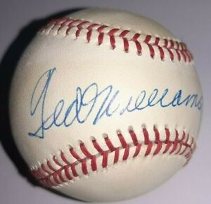 Ted Williams UDA Signed Baseball Upper Deck Authenticated Autographed COA