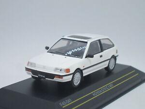 Honda Civic 3-door Hatchback RHD 1987 white 1/43 First43 F43-041