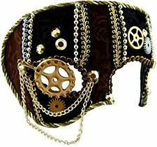 Men Male Steampunk Face Mask Masquerade Ball Party Halloween Fancy Dress