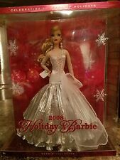 Barbie Doll Holiday 2008 Celebrating 20 Years of Holidays Christmas Carol NEW