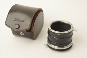 Nikon K Extension Tube Set K1, K2, K3, K4, k5 with Case Excellent (CN07)