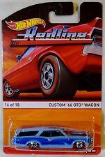 "2016 Hot Wheels Heritage ""Redline"" Custom '66 GTO Wagon, Ships World Wide"