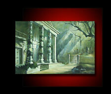 CEMETERY OF NIGHT GALLERY HAND OIL PAINTING