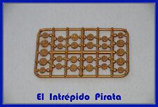 PLAYMOBIL - Monedas Tesoro Cofre Dinero Oro Medieval Aldeano Soldado Egipto