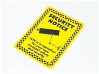 Security Camera Sign CCTV Warning Sign - 15cm x 20cm - A5 Indoor or Outdoor use