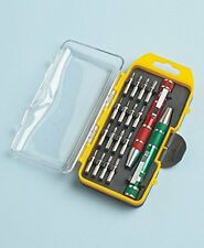 Precision Screwdriver Set in Pocket Sized Case with Clip