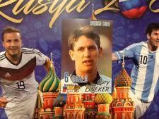 #484 Gary Lineker England SchoolShop World Cup 2018 sticker Everton Tottenham