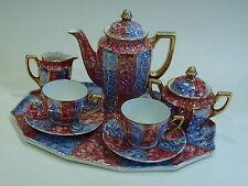 Molto bello ART DECO Gilded lustro Ware Caffè per 2 sul vassoio beakfast Set Tedesco