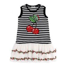 Monnalisa Cherry Dress 10 Years BNWT £96