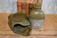 Vintage 1966 U.S. Army Vietnam Era Canteen with Cover and Metal Cup