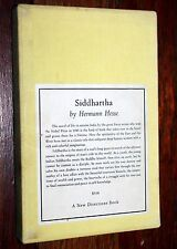 Siddhartha by Herman Hesse, New Directions       1st print