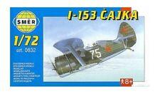 Polikarpov I-153 Chaika Russian fighter (1/48 model kit, Smer 0832)