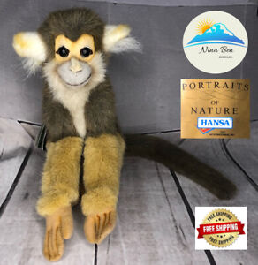 Hansa Portraits Of Nature Spider Monkey Stuffed Animal New