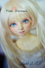 Bjd Perruque 1/3 DD DAL PULLIP DZ AOD SD Luts Dollfie Doll Toy Head Beauty 22-24