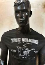 Mens-True-Religion-Tshirt-NEW-100% Original-Organic-Cotton-BLACK MEDIUM