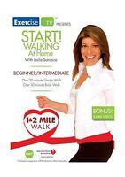 Start! Walking At Home with Leslie Sansone:  Beginner/Intermedi... Free Shipping