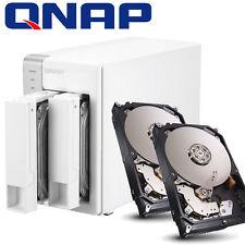 BUNDLE 4000GB FESTPLATTE + QNAP TS-231p NAS Server 1.2GHZ 512MB eSATA USB3.0 4TB