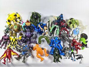 Bundle Lot of 33 Ben10 Action Figure Toys Ultimate Collection Bandai Ben 10 Bulk