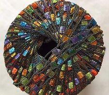 Di.Ve Scaletta Mini Ladder Ribbon Yarn #29207 Calypso -Turquoise Orange &etc 25g
