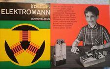 KOSMOS * ELEKTROMANN * Baukasten * Lehrspielzeug  retro