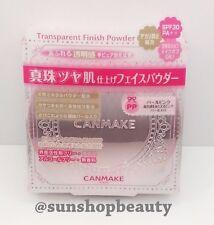 CANMAKE Transparent Finish Powder PP