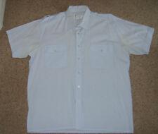 LUCE Da Uomo Blu Navy Ufficiale di Marina Camicia Costume Uniforme Costume L USATO