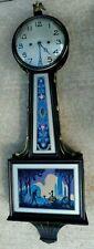 NEW HAVEN CLOCK CO. BANJO STYLE WALL CLOCK