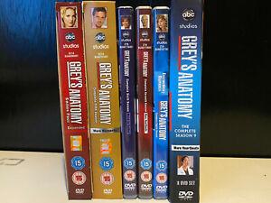 Greys Anatomy Seasons 4 5 6 7 8 9 Complete DVD Boxsets
