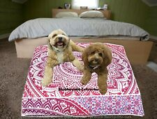 Bohemian Mediation Throw Cotton Seat Cover Square Pillow Indian Ottoman Cover