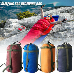 Waterproof Compression Stuff Sack Outdoor Hiking Camping Sleeping Bag Storage
