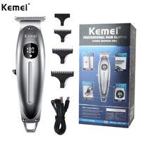 Kemei KM-1948 Pro Hair Clippers Cutting Machine Mens Barber Beard Trimmer Kit US