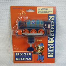 Lionel Sparking Train Schylling Handheld Push Handle Blue Green Sound Light Toy